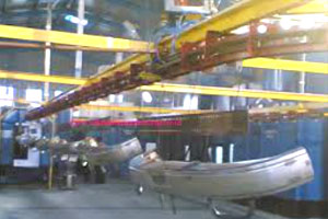Paint Industries Overhead Conveyor